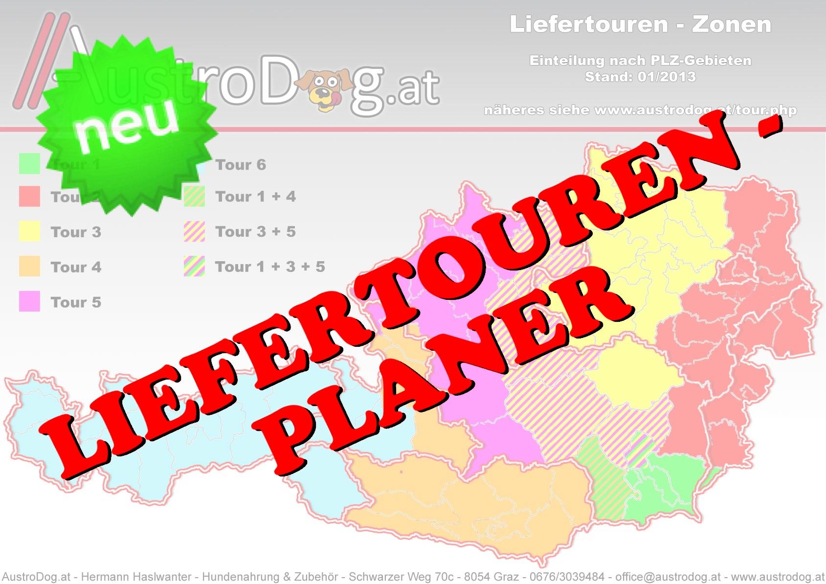 Liefertouren-Planer